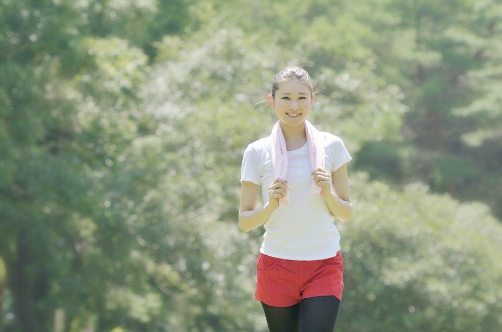 適度な有酸素運動を行うと代謝が上がるのでおすすめ