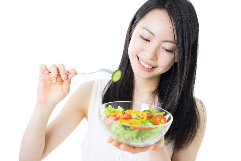 バランスの良い食事を摂ることで美容効果が高まる